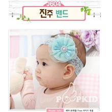 Korea Pattern~ Lace Flower Baby Hair Band