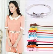 PU Leather Ribbon Belt 14112