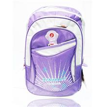 Stylish Unisex Travel/Student Backpack (Purple)