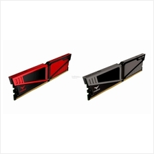 # T-FORCE Vulcan (8GB x1) 2400MHz DDR4 Single Memory # Red/Grey