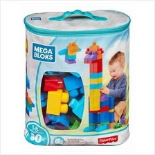 Mega Bloks: Big Building Bag (80pcs) - Classic - 31% OFF!!)
