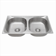 Isano Eco Stainless Steel Double Sink Singki Bowl 0 6mm Thickness