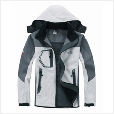 NorthFace Soft Shell Jacket Wind/Waterproof with hoodie