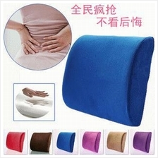 Memory foam posture back support pillow-Car/Office