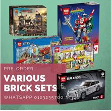 Various Brick Sets