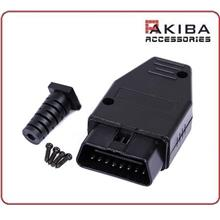 16Pin OBD Connector J1962 OBDII Male Adapter Casing