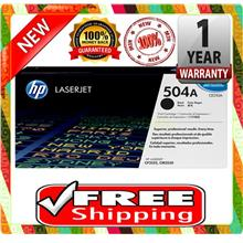NEW HP 504A / CE250A BLACK Toner 3530 3520 3525 (FREE SHIPPING)