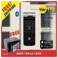 Yale YDR 50G 6 in 1 (Gate) Fingerprint Digital Door Lock