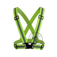 Reflective Vest with Adjustable Buckle