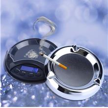 0.01g x 100g Digital Precision Pocket Scale Ash Tray Style Weighing Sc..