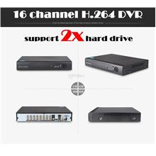 16 channel H.264 DVR HDMI VGA CCTV ALARM DDNS NETWORK