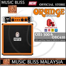 Orange OB1-300 300W Single Channel Bass Head and OBC410 Cabinet