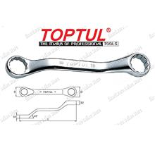 TOPTUL STUBBY DOUBLE RING WRENCH (AAAK)