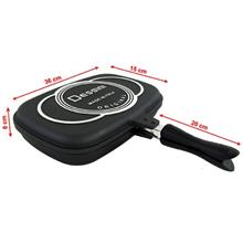 Double-Sided Foldable Frying Grill Pressure Pan 36cm Dessini