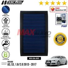AUDI A3, S3, 1.8/2.0 2013 - 2017 WORKS ENGINEERING AIR FILTER