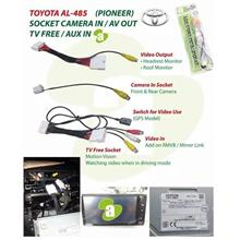 TOYOTA ALTIS 14-18 5 In 1 TV Free/and others Plug & Play Socket