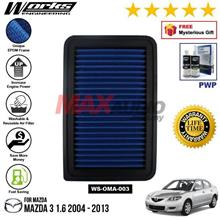 MAZDA 3 1.6 2004 - 2013 WORKS ENGINEERING AIR FILTER