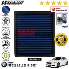 BMW F10 528 3.0 L6 2011 - 2017 WORKS ENGINEERING AIR FILTER