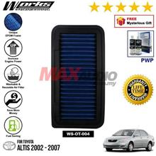 TOYOTA ALTIS 2002 - 2007 WORKS ENGINEERING AIR FILTER