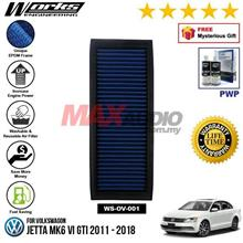 VOLKSWAGON JETTA MK6 VI GTI 2011 - 2018 WORKS ENGINEERING AIR FILTER
