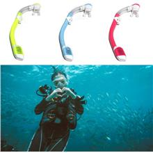 Small Volume Dry Purge Snorkel Scuba Dive Snorkeling Swim Gear For Chi..