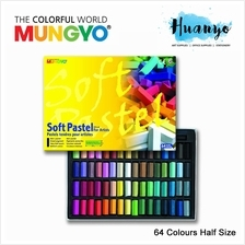 Mungyo Soft Pastel 64 Colours Set (Half Size)