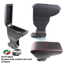 Perodua Axia Leather LU Black Arm Rest - CD-PT-5812