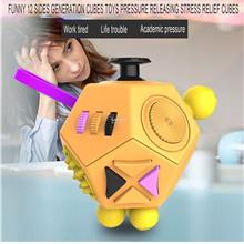 12 Sides Generation Cubes Toys Pressure Releasing Stress Relief dice