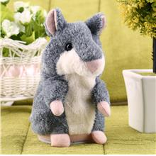 Hot Speak Talking Record Nod Hamster Mouse Plush Kids Toy Russian Gift
