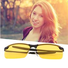 Yellow HD Night Vision Polarized Glasses UV400 Driving Sunglasses Eye