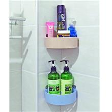 Bathroom Triangle Hollow Storage Rack