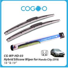 Cogoo Hybrid Silicone Wiper For Honda City SY8 18' & 19'