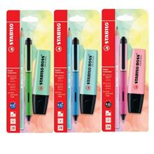 STABILO BOSS Original Pastel Set with Pastel Pencil and Gel Pen)