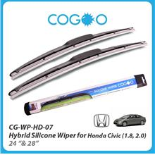 Cogoo Hybrid Silicone Wiper For Honda Civic 2006 (1.8, 2.0) 22' & 28'