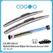 Cogoo Hybrid Silicone Wiper For Honda Accord 1999- 19' & 24'
