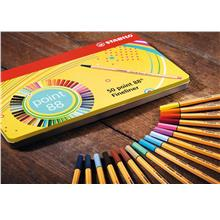 STABILO point 88 fineliner pens (47 colors))
