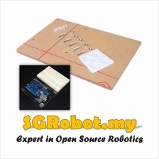 Arduino UNO R3 Acrylic Base Breadboard Experimental Platform Plate