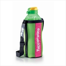 Tupperware The Giant Eco Bottle (1) 2.0L- Green + Pouch