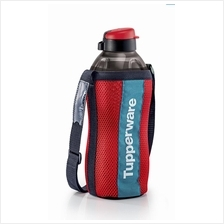 Tupperware The Giant Eco Bottle (1) 2.0L- Black + Pouch