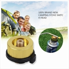 Camping Stove Propane  Flat Cylinder Tank Coupler Bottle Adapter Safe ..