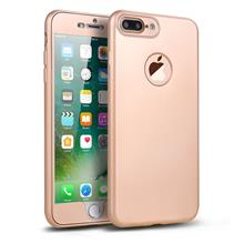 IPHONE 6 PLUS / 6S PLUS 360 SOFT MATTE FULL BODY PROTECTION CASE COVER - GOLD