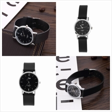 Silicone Strap Simple Stylish Couple Design Stretchable Wrist Watch