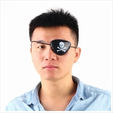 Pirate Eye Patch Skull Crossbone Halloween Party Favor Bag Costume Kid..