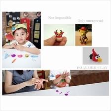 32 Pcs Soft Effect Polymer Clay Plasticine DIY Modelling Craft Art Toy..