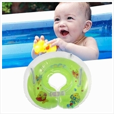 Baby Kids Infant Colorful  Swimming Neck Float Inflatable Tube Ring Sa..
