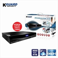 KGuard Easy Link EL422 4 Channel DVR c/w 1TB HDD