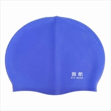 XinHang Silicone Swimming Cap with Anti-skid Pellet (BLUE)