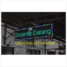 Led Running Message Display SignBoard Red or RGB with programmable