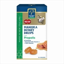 MANUKA HEALTH MANUKA HONEY DROPS WITH PROPOLIS 15S)