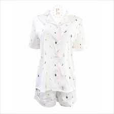 SHORT FRUITS PRINTS ULTRA SILK SLEEPWEAR